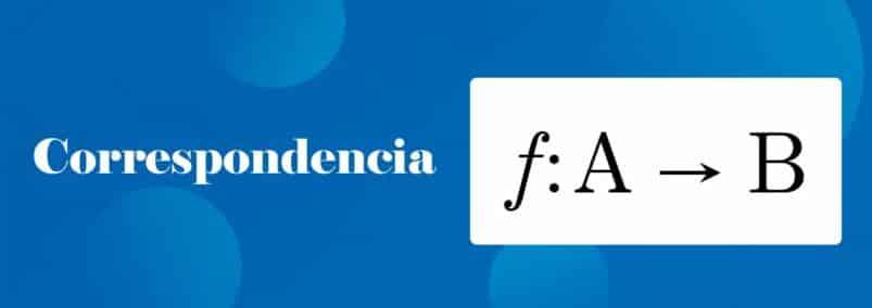 ¿Que es la Correspondencia Matemática?