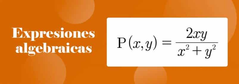¿Que son las expresiones algebraicas?