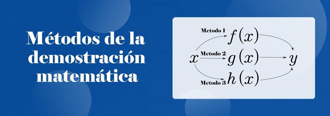 Métodos De La Demostración Matemática