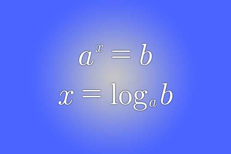 Como despejar un exponente de una ecuación exponencial